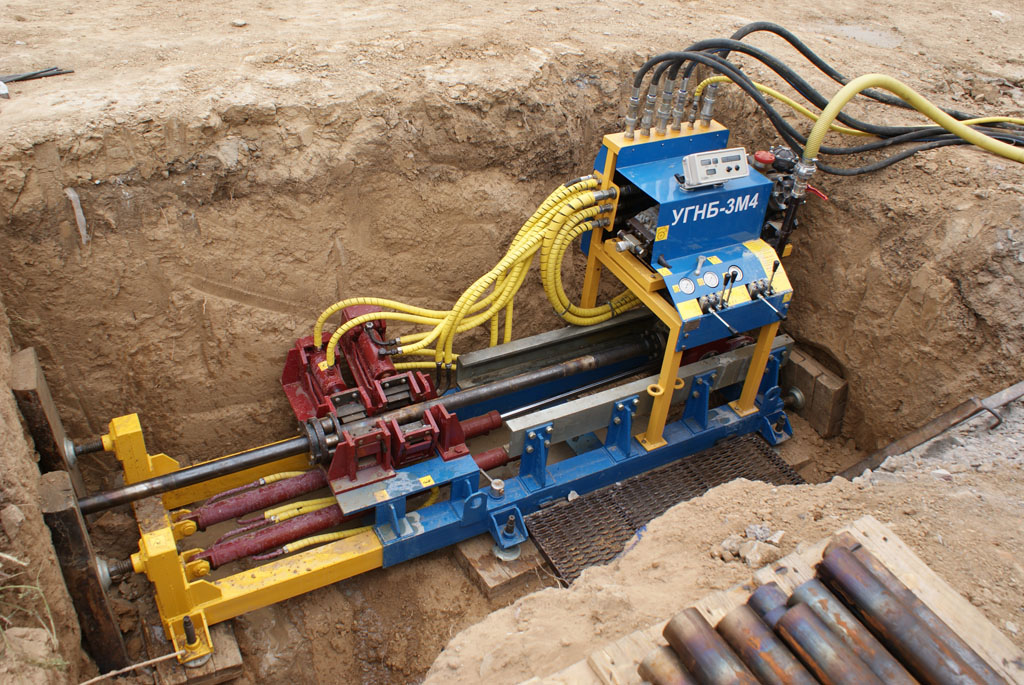 The Horizontal Directional Drilling Machine UGNB-3M4